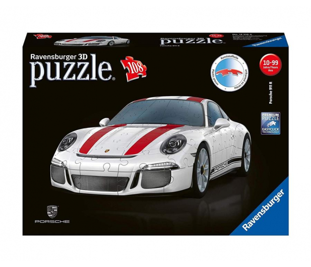 Ravensburger 3D Porsche 108 el. - 470052 - zdjęcie