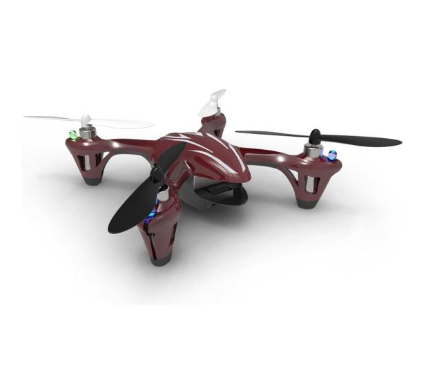 Hubsan X4 CAM HD H107C czerwono-szary - 464552 - zdjęcie