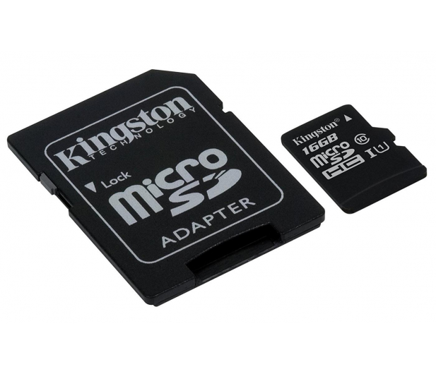 Kingston 16GB microSDHC Canvas Select 80MB/s C10 UHS-I - 408957 - zdjęcie 3