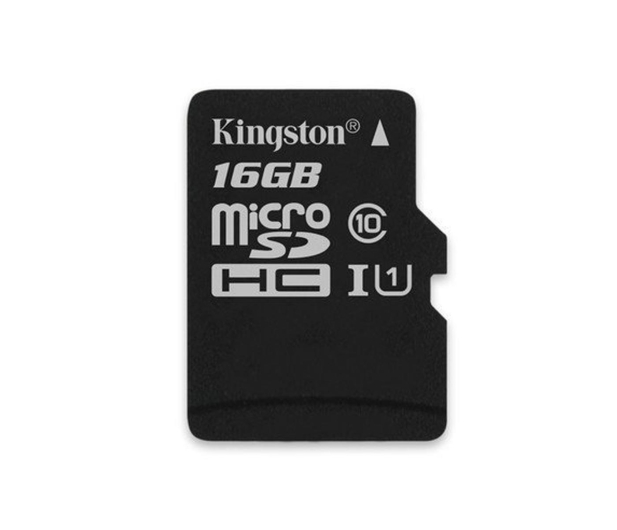 Kingston 16GB microSDHC Canvas Select 80MB/s C10 UHS-I - 408957 - zdjęcie