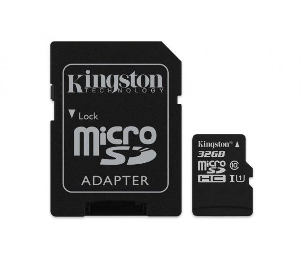 Kingston 32GB microSDHC Canvas Select 80MB/s C10 UHS-I  - 408958 - zdjęcie 2
