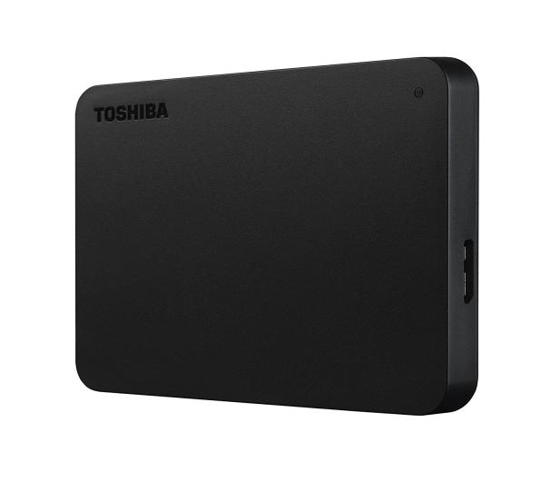 Toshiba 1TB Canvio Basics 2,5'' czarny USB 3.0  - 409029 - zdjęcie 4