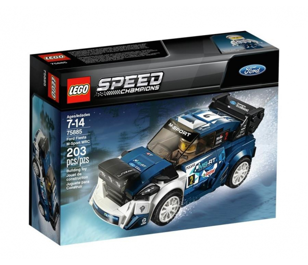 LEGO Speed Champions Ford Fiesta M-Sport WRC - 409447 - zdjęcie
