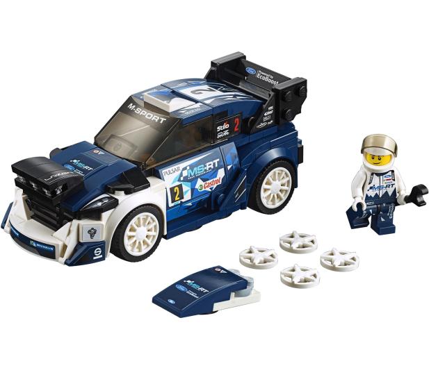 LEGO Speed Champions Ford Fiesta M-Sport WRC - 409447 - zdjęcie 2