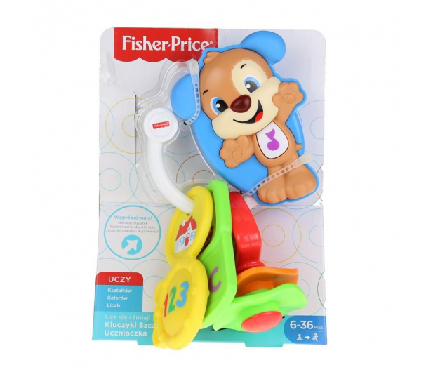 Fisher-Price Kluczyki Szczeniaczka Uczniaczka  - 407058 - zdjęcie 7