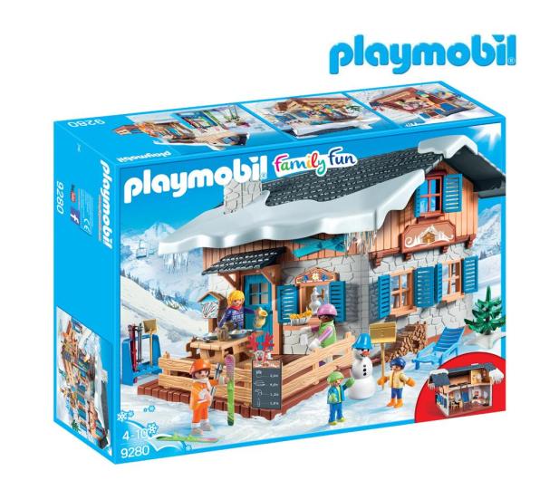 PLAYMOBIL Chata górska - 405529 - zdjęcie