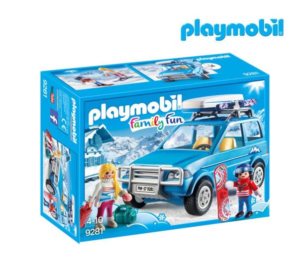 PLAYMOBIL Auto z boxem dachowym - 405540 - zdjęcie