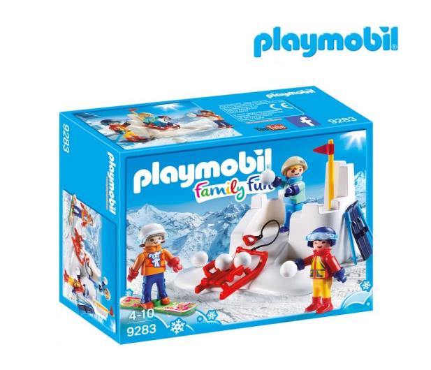 PLAYMOBIL Bitwa na śnieżki - 405542 - zdjęcie