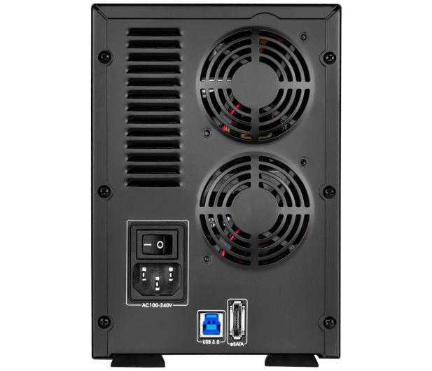 SilverStone TS431U 4-Bay USB 3.1 (3,5'') czarna - 406261 - zdjęcie 4