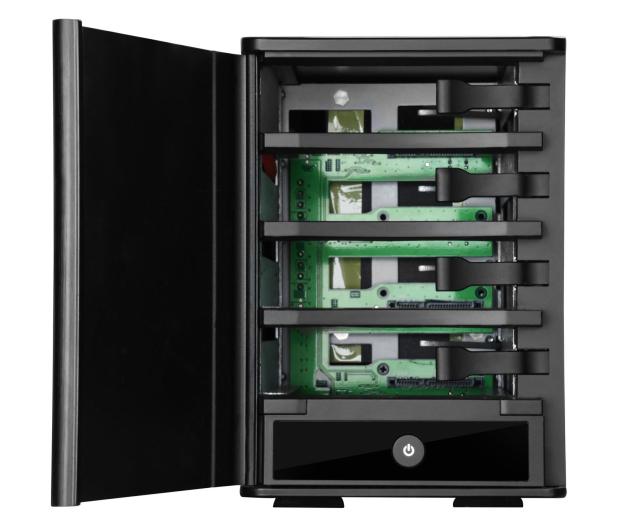 SilverStone TS431U 4-Bay USB 3.1 (3,5'') czarna - 406261 - zdjęcie 5