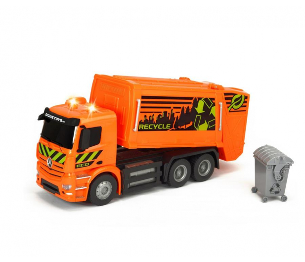 Dickie Toys Śmieciarka MB Antos - 407679 - zdjęcie 2