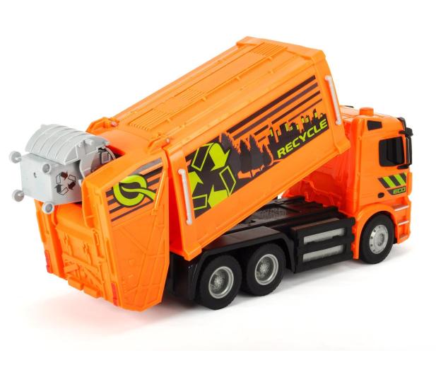 Dickie Toys Śmieciarka MB Antos - 407679 - zdjęcie 3