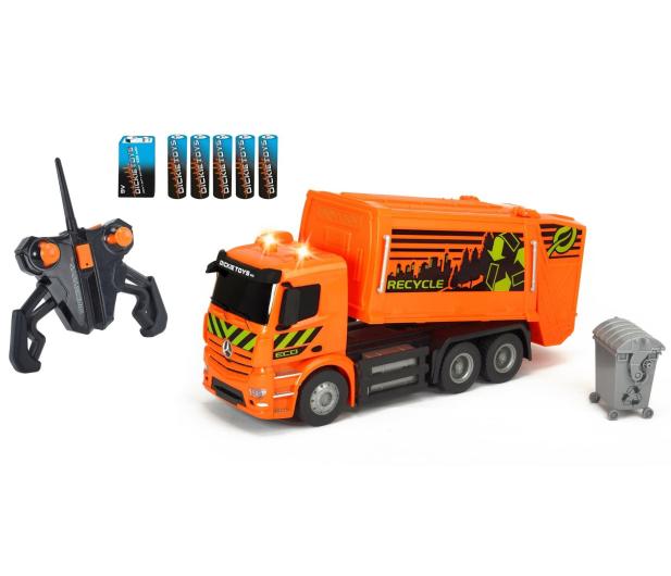 Dickie Toys Śmieciarka MB Antos - 407679 - zdjęcie 4