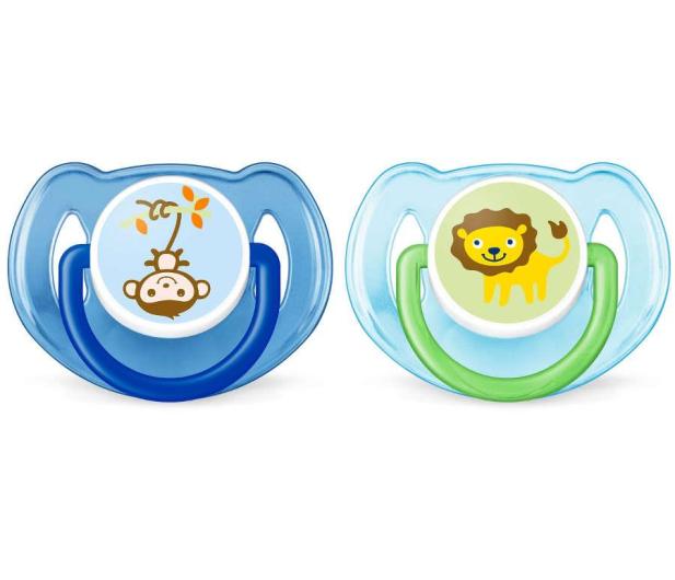 Philips Avent Smoczek Ortodontyczny 6-18m+ 2szt Niebieski - 409859 - zdjęcie 1