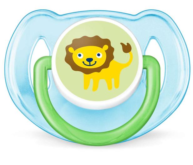 Philips Avent Smoczek Ortodontyczny 6-18m+ 2szt Niebieski - 409859 - zdjęcie 3