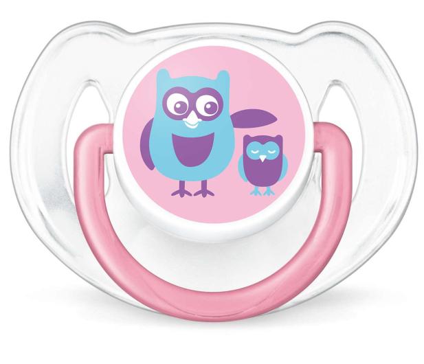 Philips Avent Smoczek Ortodontyczny 6-18m+ 2szt Różowy - 409852 - zdjęcie 2