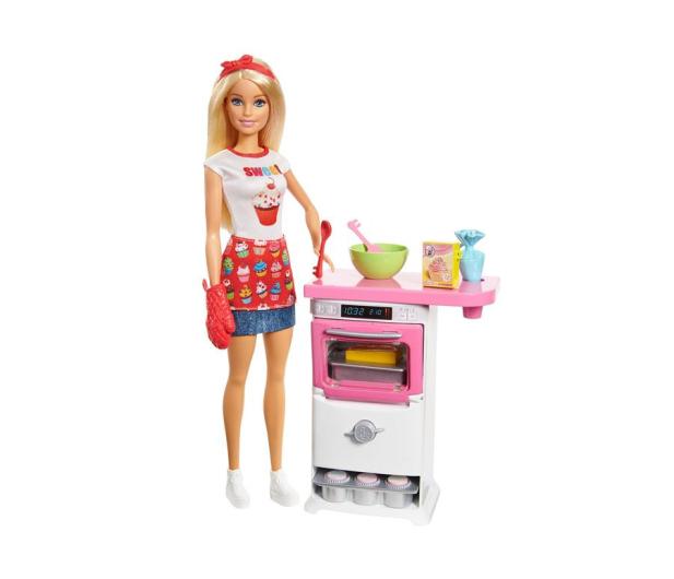 Barbie Domowe Wypieki Zestaw z lalką - 409719 - zdjęcie