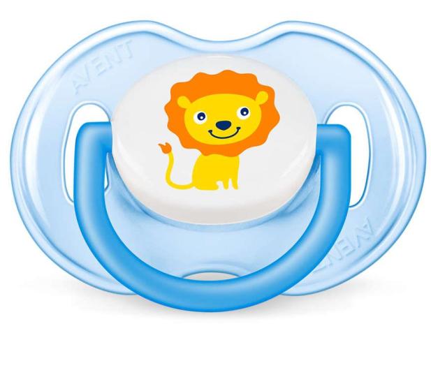 Philips Avent Smoczek Ortodontyczny 0-6m+ 2szt Niebieski - 410374 - zdjęcie 3