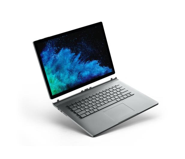 Microsoft Surface Book 2 15 i7-8650U/16GB/512GB/W10P GTX1060 - 412085 - zdjęcie
