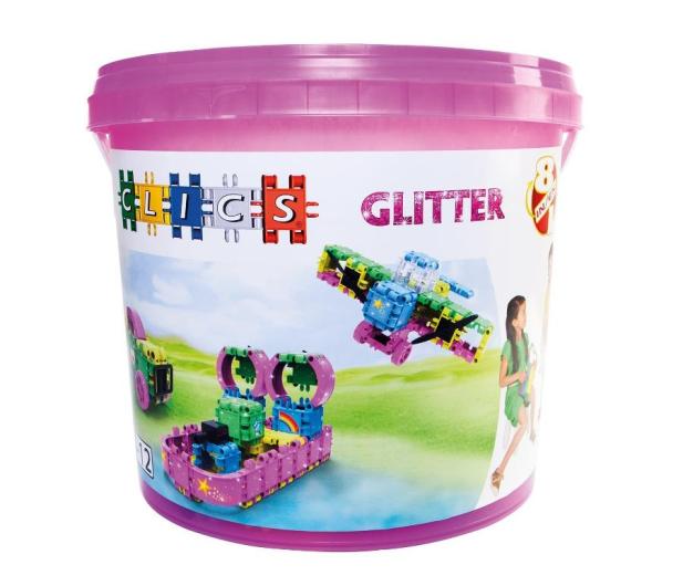 CLICS Wiaderko 8 w 1 - Glitter - 404962 - zdjęcie