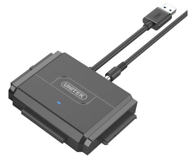 Unitek Mostek USB 3.0 do SATA II i IDE - 408410 - zdjęcie