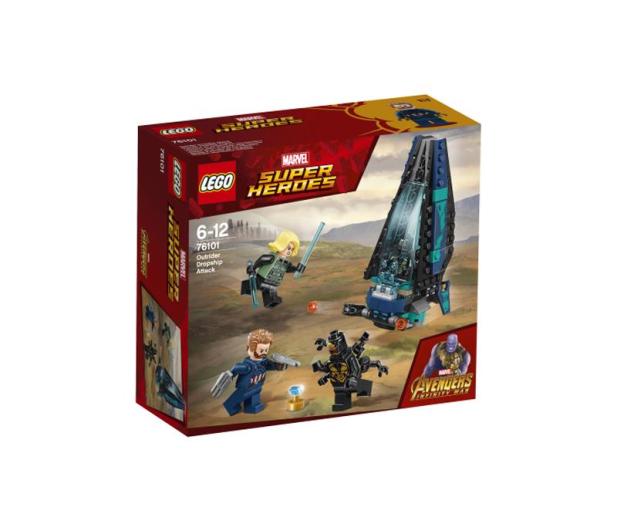 LEGO Marvel Super Heroes Atak statku Outriderów - 412819 - zdjęcie