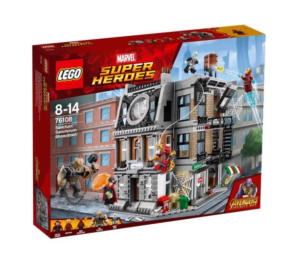 LEGO Marvel Super Heroes Starcie w Sanctum Sanctorum - 412825 - zdjęcie