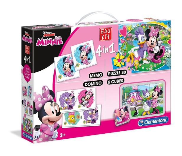 Clementoni Disney Edukit 4w1 Minnie Happy Helpers - 415027 - zdjęcie