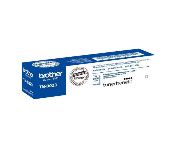 Brother TNB023 Black 2 000 str. (TN-B023) - 416586 - zdjęcie 2