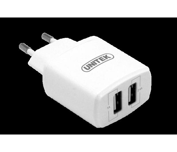 Unitek Ładowarka sieciowa 2x USB 3.4A  - 416623 - zdjęcie