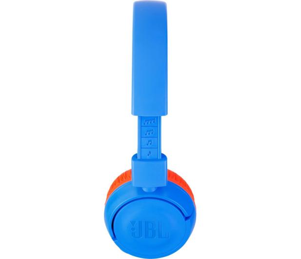 JBL JUNIOR JR300BT niebiesko-pomarańczowy - 408937 - zdjęcie 3