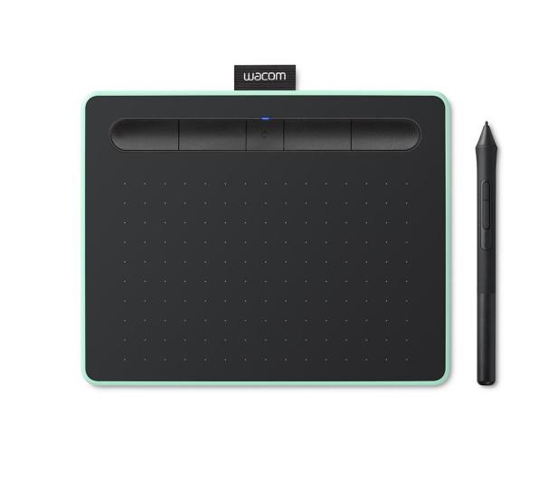 Wacom Intuos BT S Pen i Bluetooth pistacjowy - 413274 - zdjęcie