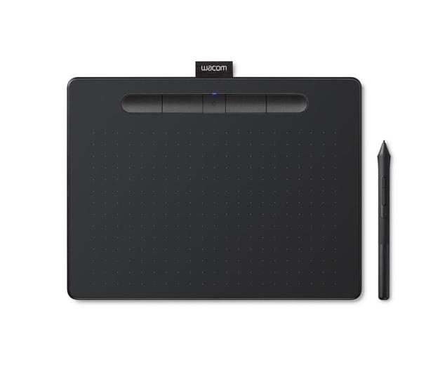 Wacom Intuos BT M Pen i Bluetooth czarny - 413278 - zdjęcie