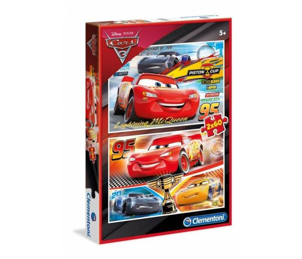 Clementoni Puzzle Disney Cars 2x60 el. - 414603 - zdjęcie