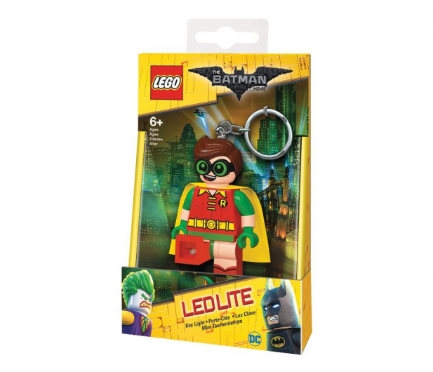 POLTOP LEGO Batman Movie Robin brelok z latarką - 417782 - zdjęcie 1