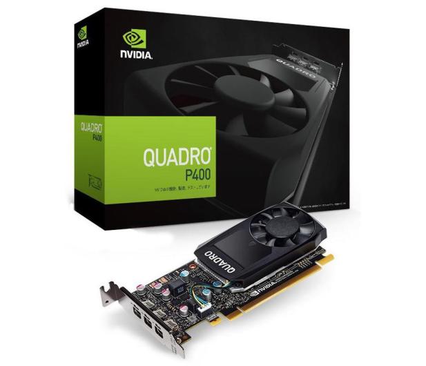PNY Quadro P400 2GB GDDR5 - 366765 - zdjęcie