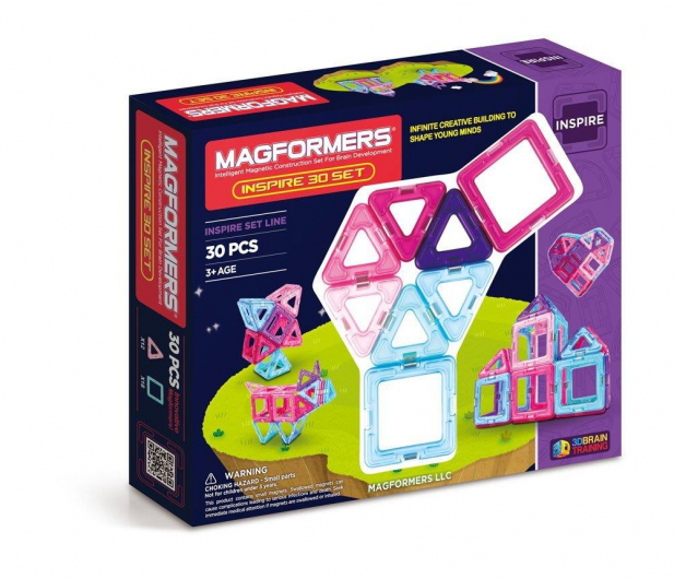 Magformers Inspire 30 el.  - 415364 - zdjęcie