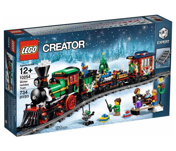 LEGO Creator Świąteczny pociąg - 415963 - zdjęcie