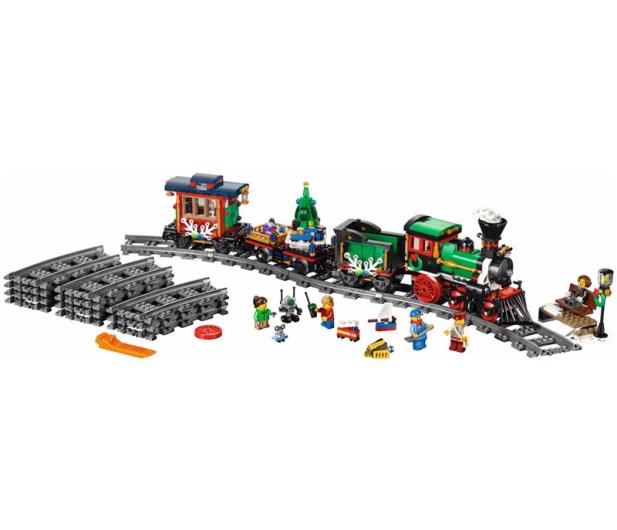 LEGO Creator Świąteczny pociąg - 415963 - zdjęcie 2