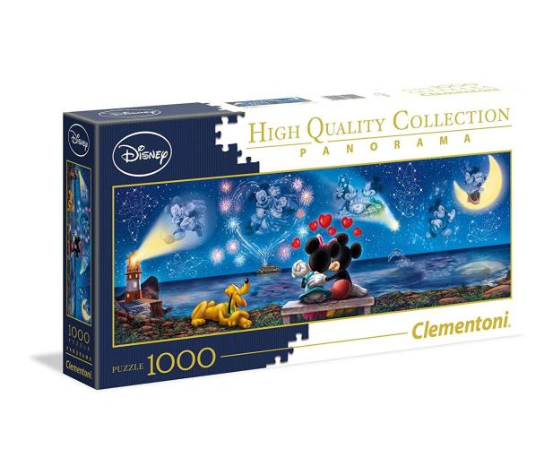 Clementoni Puzzle Disney Panorama Mickey e Minnie - 417022 - zdjęcie