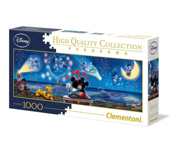 Clementoni Puzzle Disney Panorama Mickey e Minnie - 417022 - zdjęcie 2