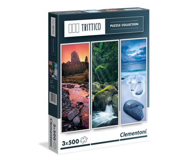 Clementoni Puzzle Trittico Nature 3x500 el. - 417018 - zdjęcie
