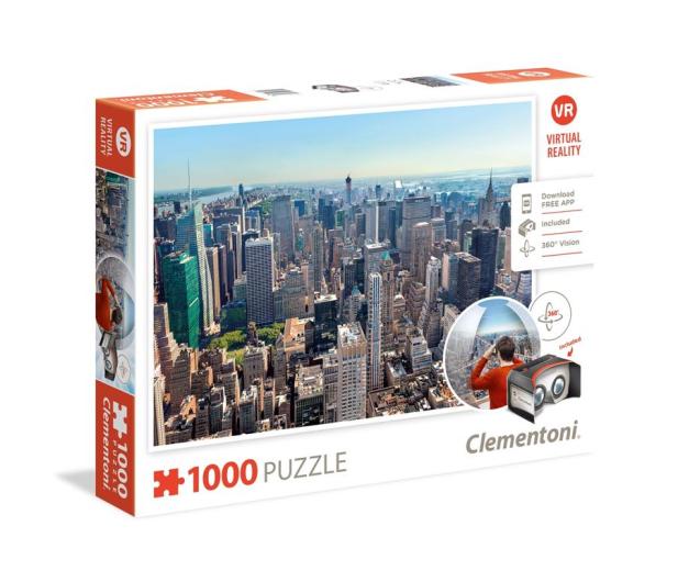 Clementoni Puzzle Virtual Reality: New York - 416992 - zdjęcie