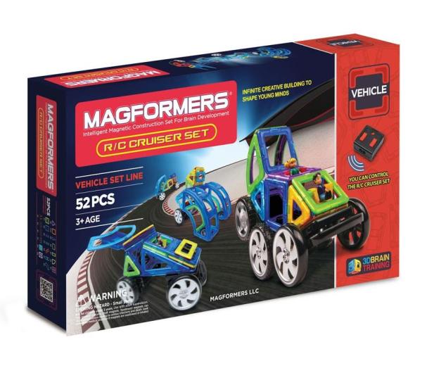 Magformers Vehicle R/C Cruiser zestaw 52 el. - 415400 - zdjęcie