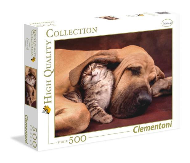 Clementoni Puzzle HQ  Cuddles - 417056 - zdjęcie