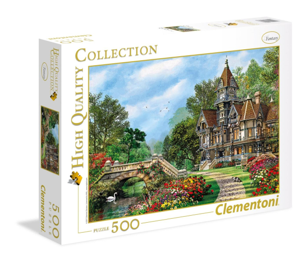 Clementoni Puzzle HQ Old Waterway Cottage - 417070 - zdjęcie 1