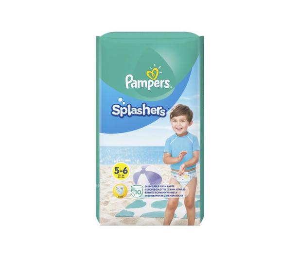 Pampers Do Pływania Splashers 5 Junior 14kg+ 10szt - 421013 - zdjęcie