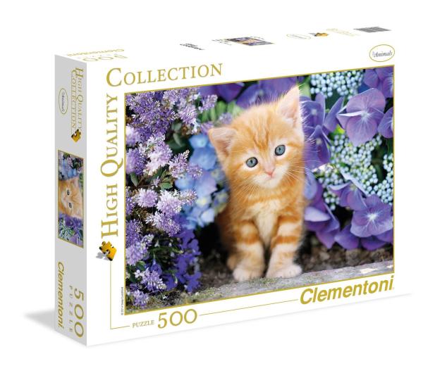 Clementoni Puzzle HQ  Gattino rosso  - 417074 - zdjęcie