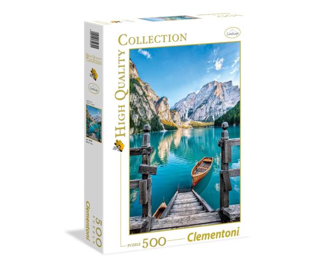 Clementoni Puzzle HQ  Braies lake - 417080 - zdjęcie
