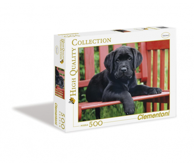 Clementoni Puzzle HQ  The Black dog - 417081 - zdjęcie 3